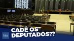 Vergonha: Depois de um enorme recesso, ano legislativo começa com Câmara dos Deputados vazia (veja o vídeo)