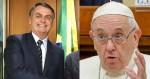 """Papa diz que Amazônia é de todos e Bolsonaro dispara: """"o Papa pode ser argentino, mas Deus é brasileiro"""" (veja o vídeo)"""