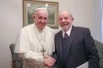 Encontro entre Francisco e Lula só em hospedagem custou R$ 21,5 mil para os cofres públicos