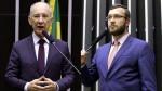 """Rui Falcão, o mentiroso, diz que é """"hora de reagir"""" contra Bolsonaro e é desmoralizado por Filipe Barros"""