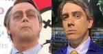 Extrema imprensa ataca Carioca por imitação de Bolsonaro, mas se cala sobre Adnet (veja os vídeos)