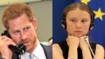 "O ""trote"" de Greta ""fake"" no príncipe Harry, a ""estocadora de vento"" inglesa"