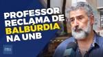 Professor da UnB desafia marginais e escancara o caso da pracinha do tráfico (veja o vídeo)