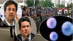 """A Lava Jato no combate ao Coronavírus: o momento em que Mandetta agradece o """"juiz"""" Sérgio Moro (veja o vídeo)"""
