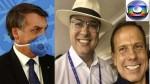 Competência versus campanha difamatória: O dilema entre Bolsonaro e Rede Globo, Witzel e Dória (veja o vídeo)