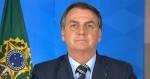 """Em novo pronunciamento, Bolsonaro """"pauta"""" a OMS e o discurso sobre pandemia (veja o vídeo)"""