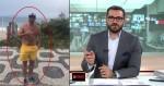 """Jornalista da Globo é flagrado caminhando na orla e é escrachado por cidadão: """"Hipócrita"""" (veja o vídeo)"""
