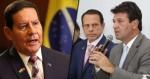 """General Mourão diz que Mandetta cometeu """"falta grave"""" (veja o vídeo)"""