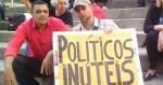 """Companheiro de Adélio em manifestação afirma: """"Em nenhum momento demonstrou insanidade"""" (veja o vídeo)"""