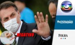 Jair Bolsonaro entrega exame de coronavírus e novamente desmoraliza a mídia