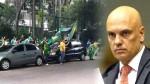 O fim da liberdade de expressão: Protesto contra ministro do STF resulta em prisão preventiva