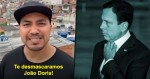 Da favela, jovem manda forte e realista mensagem para João Doria (veja o vídeo)
