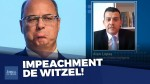 """Impeachment de Witzel protocolado: """"Não sei se ele vai direto para a cadeia, se será impeachmado primeiro"""" (veja o vídeo)"""