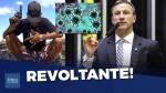 Mais de 30 mil criminosos soltos durante a pandemia, alerta deputado (veja o vídeo)
