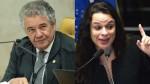 """Marco Aurélio pede a saída de Weintraub, mas Janaína surpreende e sai em sua defesa: """"Expressou o sentimento do brasileiro indignado"""""""