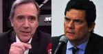 Em decadência desenfreada, Moro concede entrevista e enaltece Villa (veja o vídeo)