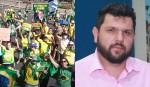 Manifestação em Brasília pede a liberdade de Oswaldo Eustáquio (veja o vídeo)