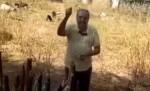 As águas do Velho Chico... E a felicidade e gratidão de um cidadão nordestino (veja o vídeo)