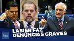 """Lasier Martins denuncia """"conluio amigo"""" entre Alcolumbre e Toffoli (veja o vídeo)"""