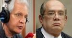 "Augusto Nunes escancara e desmoraliza Gilmar: ""Cretino"" (veja o vídeo)"