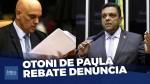Denunciado pela PGR por criticar Alexandre de Moraes, Otoni de Paula rebate: 'Querem me usar para calar o povo brasileiro' (veja o vídeo)