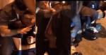 Cidadão grava PM Gabriel Monteiro prendendo agressor de idosa (veja o vídeo)
