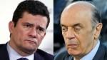 O silêncio sepulcral de Sérgio Moro em relação a José Serra (veja o vídeo)