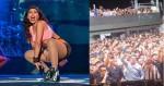 Anitta que prega o 'fique em casa', participa de show lotado na Itália (veja o vídeo)
