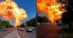 Urgente: Grande explosão em um posto de combustíveis na Rússia (veja o vídeo)