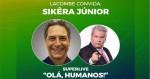 Finalmente acontecerá a 'superlive' de Lacombe com Sikêra Jr. (veja o vídeo)