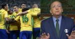 Globo pode sofrer nova derrota e perder transmissão de partida da Seleção Brasileira
