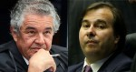 """Na contramão, Maia """"absolve"""" Marco Aurélio e culpa MP pela soltura de líder do PCC"""