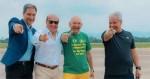 O grande encontro: Hang, Lacombe, Sikêra e Marcelo de Carvalho (veja o vídeo)