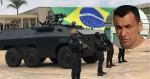 Presídio onde está Marcola recebe reforço do Exército com carros blindados (veja o vídeo)
