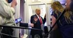 """Trump se revolta com jornalista e ameaça divulgar vídeo dos bastidores: """"falsa e tendenciosa"""" (veja o vídeo)"""