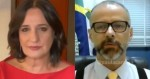 Jornalista da GloboNews tenta fustigar presidente da Anvisa e é desmentida ao vivo (veja o vídeo)