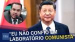"""Vacina chinesa: """"Eu não confio em laboratório comunista"""", afirma deputado (veja o vídeo)"""