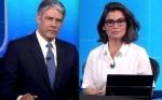 Protocolada notícia-crime contra Bonner e Renata, que devem depor nos próximos dias