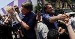 Bolsonaro vota e vai de surpresa a subúrbio carioca, onde é recebido com grande festa (veja o vídeo)