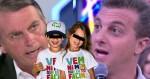 """Bolsonaro ridiculariza """"candidatura"""" de Huck e lembra campanha do apresentador: """"vem ni mim que eu tô facin"""" (veja o vídeo)"""