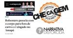"""""""Agência de checagem conservadora"""" marca como """"distorcida"""" notícia publicada pelo site O Antagonista"""