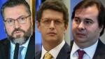 Sem qualquer razão, Maia volta a atacar ministros do governo Bolsonaro