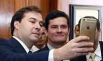 """Botafogo ironiza Moro: """"Ele não é mais candidato. É consultor da Odebrecht"""""""