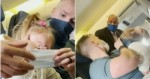 Família é expulsa de avião por filha de 2 anos estar sem máscara (veja o vídeo)