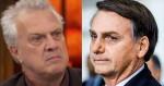 """Destilando """"ódio"""", Pedro Bial parte para """"agressão"""" a Bolsonaro (veja o vídeo)"""