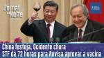 Réveillon em Wuhan, o STF pressiona Anvisa e Doria estende quarentena em São Paulo (veja o vídeo)