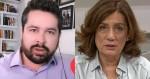 """Paulo Figueiredo escancara o jornalismo """"falido"""" de Míriam Leitão e detona: """"Ex-jornalista. Vão fazer impeachment dela"""" (veja o vídeo)"""
