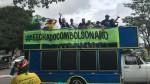 """Carreata em Brasília em favor de Bolsonaro """"esmaga"""" manifestação em favor do impeachment (veja o vídeo)"""