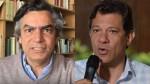 """O confronto entre Diogo Mainardi e o poste de Lula: a vitimização de um """"imbecil"""" (veja o vídeo)"""
