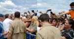 Bolsonaro vai a SC para recesso e é surpreendido com recepção calorosa da população (veja o vídeo)